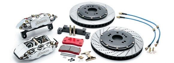 Rotora 4-Piston Forged Caliper Brake System