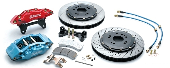 Rotora 6-Piston Caliper Brake System