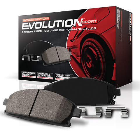 Powerstop Z16 Evolution Ceramic Brake Pads