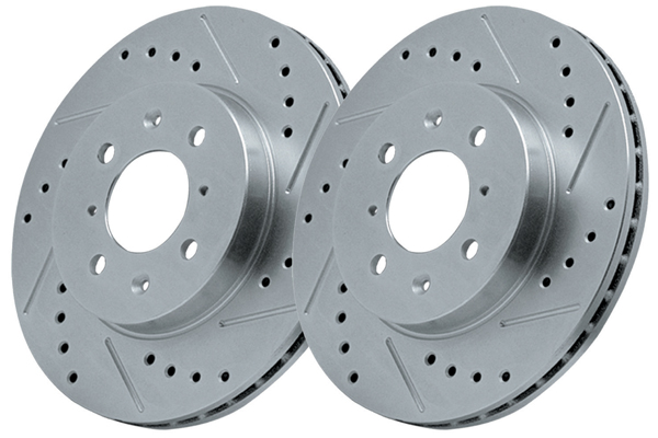 Powerstop Cross-Drilled & Slotted Brake Rotors