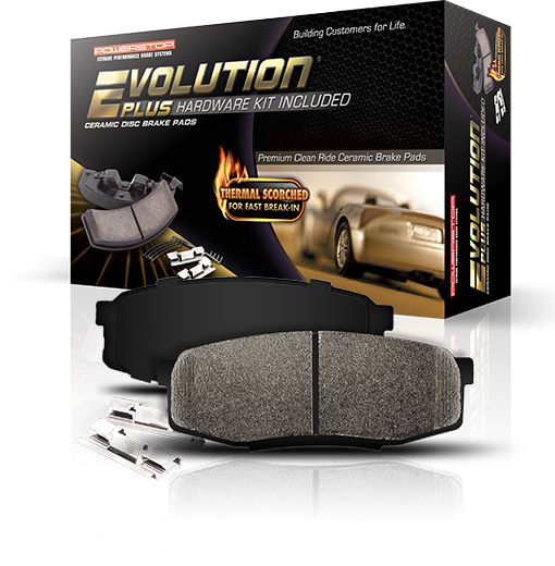 Powerstop Z17 Evolution  Plus Brake Pads with Hardware