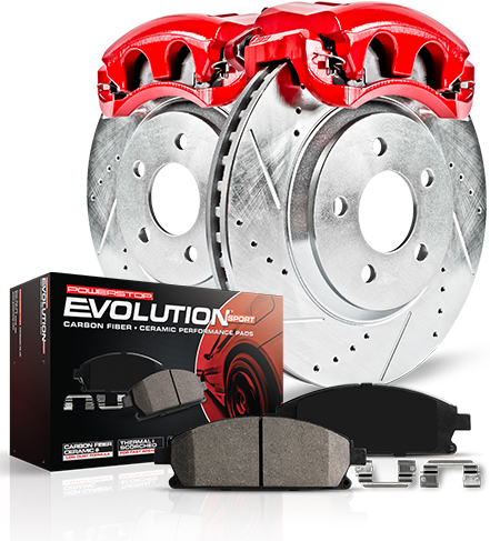 Powerstop Z23 Evolution Sport Brake Kits With Calipers