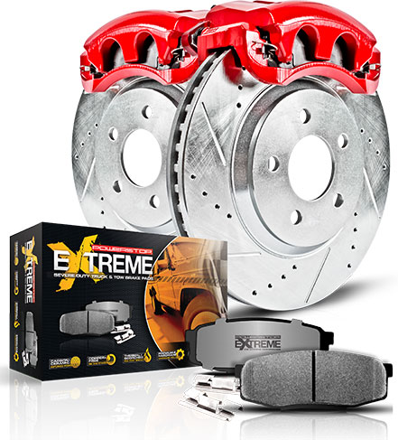 Powerstop Z36 Truck & Tow Brake Kits With Calipers