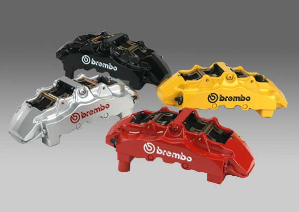 Brembo Calipers - Red, Black, Silver, Yellow