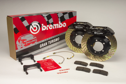 Brembo Gran Turismo Brake System - Cross Drilled