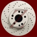 Carbon Z Cross-Drilled Brake Rotors