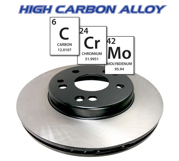125 Series High Carbon Alloy Rotors