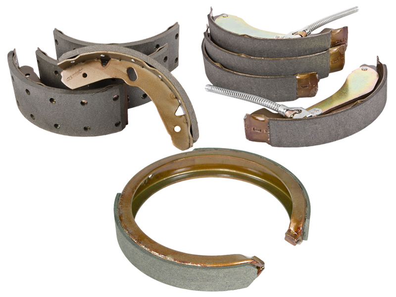 Centric Parts Brake Shoes (Bonded or Riveted) & Parking Brakes