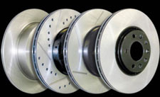 Centric Brake Rotors - Centric Premium, SportStop Performance (Slotted, Cross-Drilled & Slotted, Cross Drilled) & C-Tek Value