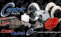 Centric Parts Brakes