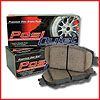 Posi Quiet Brake Pads - Semi-Metallic, Ceramic, Extended Wear