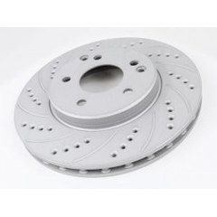Drilled And Slotted Cryo Rotors