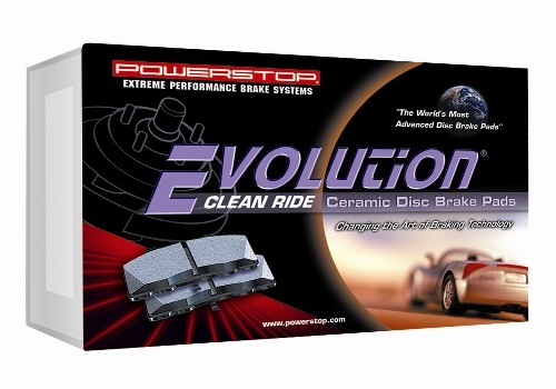 Power Stop Z17 Evolution Plus Brake Pads with Hardware