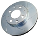 Power Stop Slotted Brake Rotors