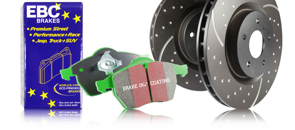 S3 Kits Greenstuff 6000 Pads and Black GD Rotors