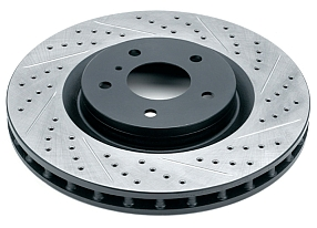 Rotora Drilled & Slotted Brake Rotor Disc